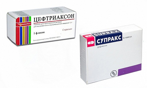 Супракс и Цефтриаксон относятся к современным антибактериальным лекарствам 3 группы