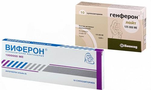 Генферон и Виферон относятся к медикаментозным средствам иммуномодулирующего действия