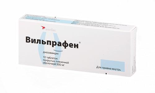 Вильпрафен эффективен против многих патогенных бактерий и обладает бактериостатическим эффектом