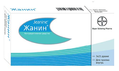 Жанин используется в качестве противозачаточного и в некоторых случаях для терапии угревой сыпи, устранения гирсутизма и проявлений себореи